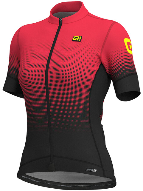 Alé Cycling PRS Dots SS Jersey Women black-gerbera